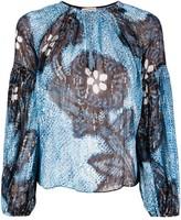 Ulla Johnson Sanya key-hole blouse