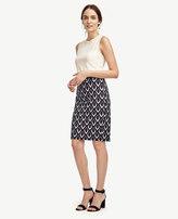 Ann Taylor Diamond Pencil Skirt