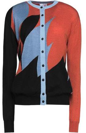 Vionnet Wool Cashmere And Silk-Blend Cardigan