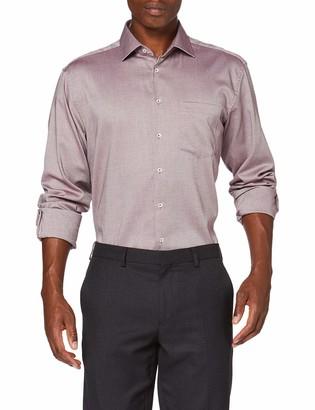 Seidensticker Men's Comfort Langarm Struktur Dress Shirt