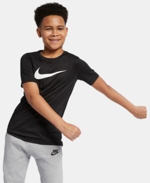 Nike Big Boys Dri-fit Swoosh Training T-shirt