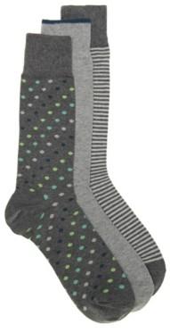 Cole Haan Dot Men's Dress Socks - 3 Pack