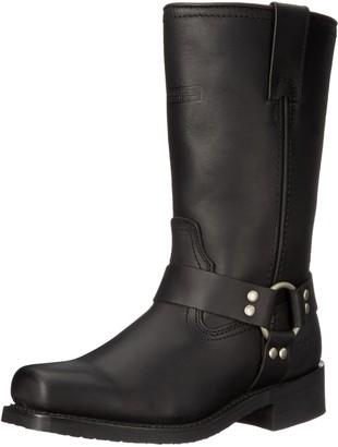 "AdTec Women's 12"" Harness Boot Black-W Motorcycle 9.5 B(M) US"