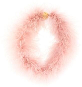 Lanvin Feather Necklace