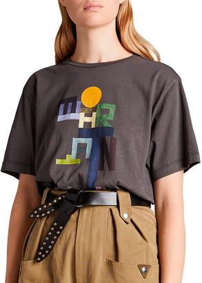 Etoile Isabel Marant Zewel Graphic T-Shirt