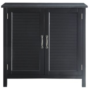 Andover Mills Mordecai 2 Door Accent Cabinet Color: Black