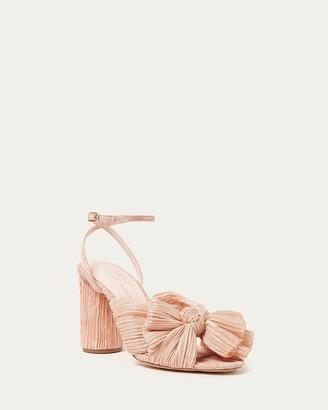 Loeffler Randall Camellia Peach Bow Heel