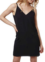 Topshop Cross Strap Slip Dress