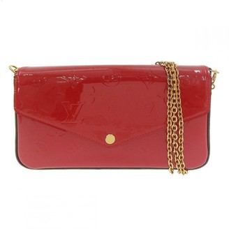 Louis Vuitton Felicie Red Patent leather Clutch bags