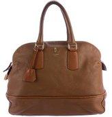 Celine Pebbled Leather Bowler Bag