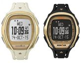 Timex Ironman Sleek 150 Lap Recall | Gold Bezel Tapscreen | Sport Watch