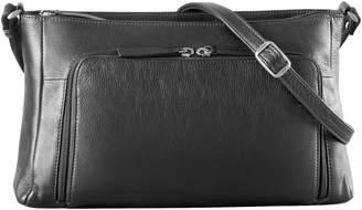 Derek Alexander Small Central Park Leather Crossbody Bag