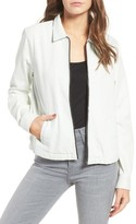 Obey Women's Hudson Zip Shirt Jacket