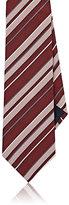 Lanvin Men's Striped Silk Necktie