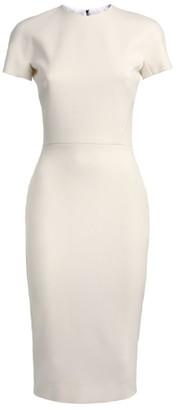 Victoria Beckham Cap Sleeve Dress