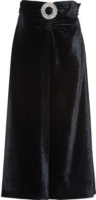 Miu Miu Belted Mid-Length Skirt