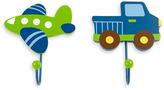 NoJo Transportation 2-Pack Decorative Wall Hooks