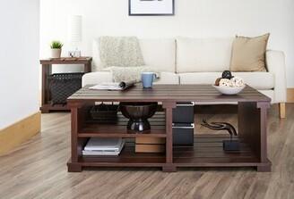 Hokku Designs 3 Legs Coffee Table with Storage