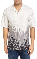 Tommy Bahama Men's Fronds In The Mist Original Fit Silk Camp Shirt
