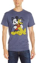 Disney Men's Mickey and Pluto Best Buds T-Shirt