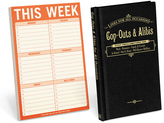 Knock Knock Cop-Outs & Alibis for All Occasions Book & 'This Week' Note Pad