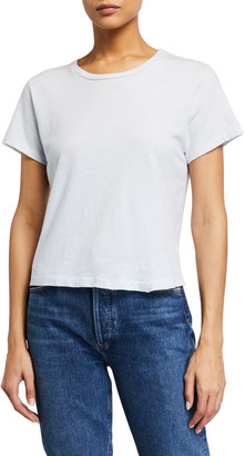 RE/DONE Hanes Classic Short-Sleeve Cotton Tee