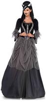Leg Avenue Black & Gray Victorian Ball Gown Costume