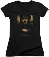 The Lord of The Rings Movie Frodo One Ring Juniors V-Neck T-Shirt Tee