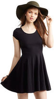 Aeropostale Womens Lace Inset Fit & Flare Dress