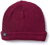 Herschel Buoy Wine Red Thick Knit Beanie