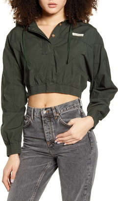 BDG Crop Poplin Jacket
