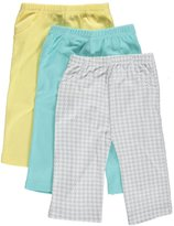 "Luvable Friends Baby Boys' ""Loveable Variety"" 3-Pack Pants"