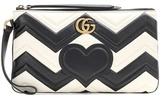 Gucci GG Marmont Pouch matelassé leather clutch