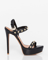 Le Château Brazilian-Made Leather Platform Sandal