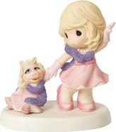 Precious Moments Disney Girl & Miss Piggy Figurine