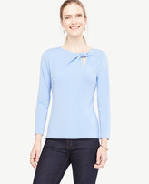 Ann Taylor Twist Knot Top