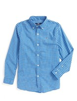 Vineyard Vines Boy's Vineyand Vines Fishlock Gingham Check Woven Shirt