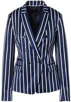 Banana Republic Double-Breasted Fit Stripe Blazer