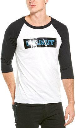 Helmut Lang Pigeon Baseball T-Shirt