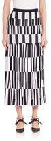 Proenza Schouler Knit Jacquard Skirt