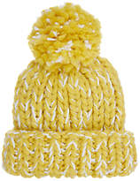 John Lewis Children's Chunky Bold Twist Beanie, Yellow