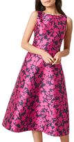 Hobbs Florentine Dress, Magenta