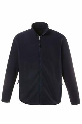 JP 1880 Men's Big & Tall Zip Front Fleece Jacket Navy XXXXXXX-Large 705552 70-7XL