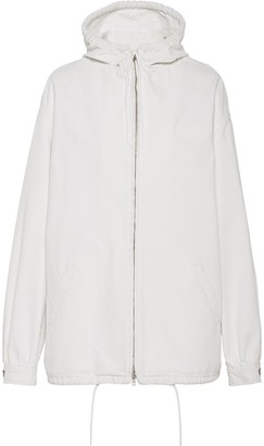 Prada Zipped Up Lightweight Jacket