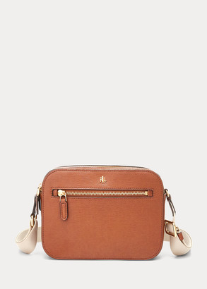 Ralph Lauren Leather Medium Crossbody Bag