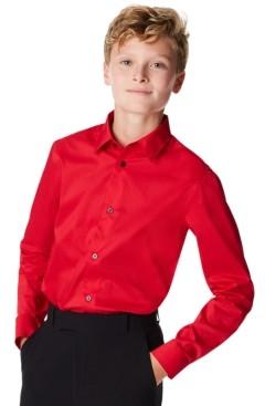 Calvin Klein Big Boys Holiday Shirt