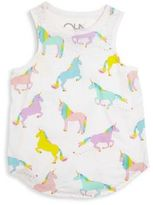 Chaser Toddler's, Little Girl's & Girl's Unicorn Muscle Tee