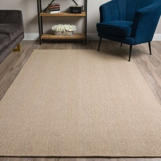 Bayou Breeze Dionne Khaki Area Rug Rug Size: Rectangle 5' x 8'