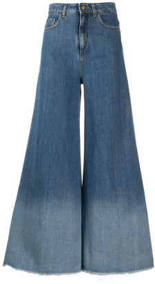 Alysi Denim Flared Jeans