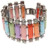Johnny Loves Rosie Multicoloured Panel Bracelet of Length 15-18.5cm